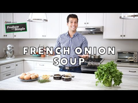 Best VEGETARIAN French Onion Soup Recipe | Produce Made Simple