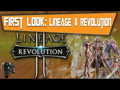 Lineage ll Revolution Walk Through Live Stream With The Geeks Of Retro