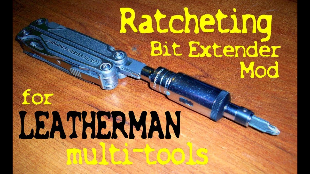 Leatherman Bit Driver Extension Accessory Tool
