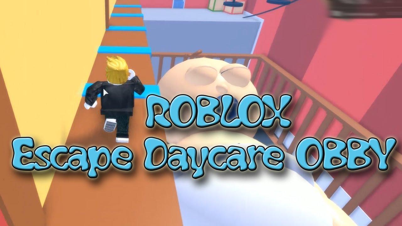 Escape The Daycare Obby Roblox Secret Room Roblox Escape Daycare Obby Youtube