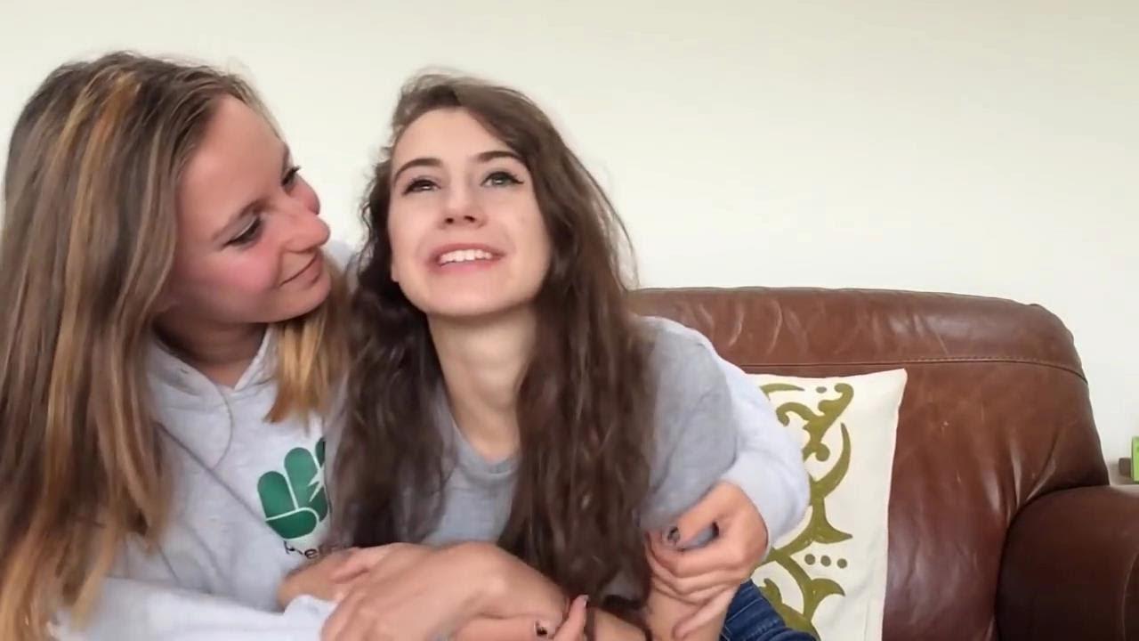 Saskia And Lily Cute Lesbian Couple 7