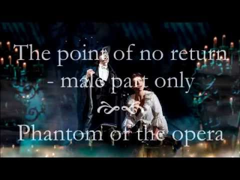 The point of no return - male part