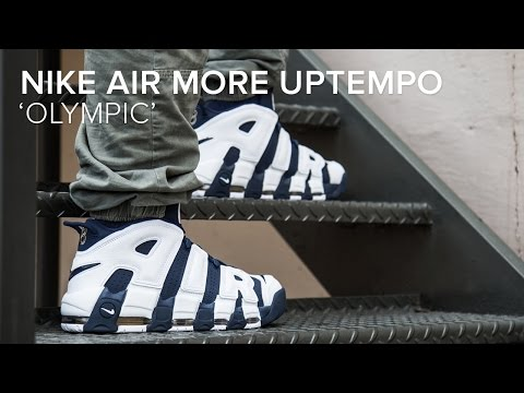 70b4c9e8f543 Nike Air More Uptempo  Olympic  Quick On Feet Look