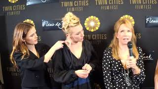 2017 TCFF Red Carpet Interview: Zoey & Madelyn Deutch, and Lea Thompson- The Year of Spectacular Men