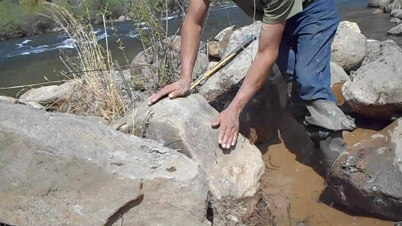 How To Move A Large Rocks You