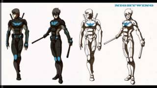 Artwork from Cancelled Nightwing Animated Series 2009
