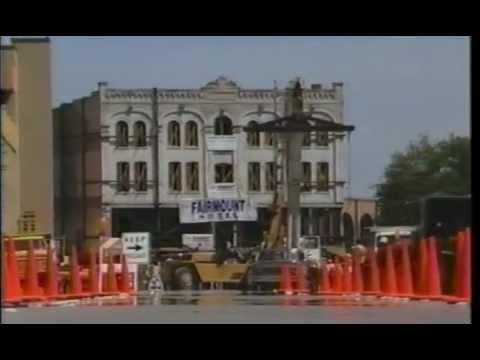 Moving the Fairmount Hotel, San Antonio