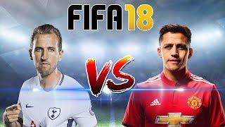 FIFA 18 บรรยายไทย (สเปอร์ส VS แมนยู) เคน วัดคม อเล็กซิส !! ดูก่อนจริง 31/1/2018