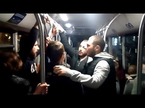 Singing in public transport / Tbilisi
