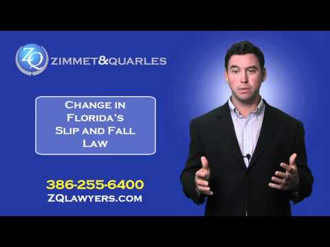 The Slip And Fall Law Has Changed In Florida