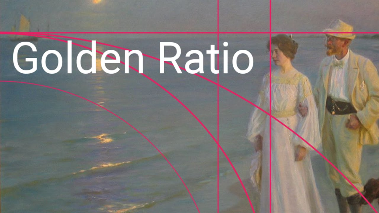 Golden ratio in art and images an android app youtube for Golden ratio artwork