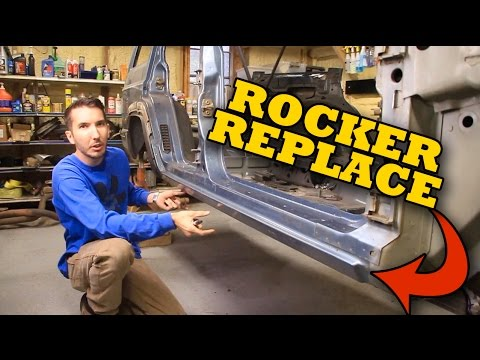 Easy Rocker Panel Replacement Youtube