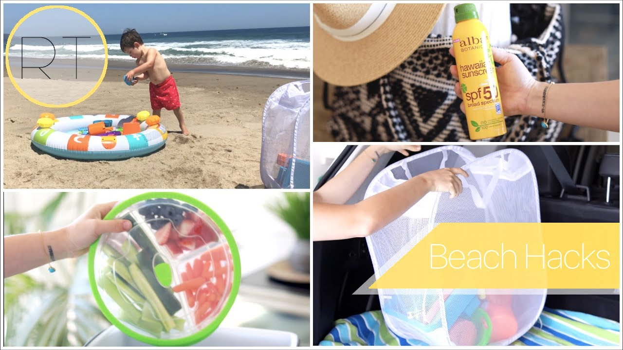 Beach DAY Hacks Tips Ideas