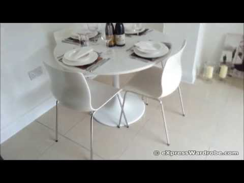 IKEA Docksta Table with Erland Chairs - Dining Set Design