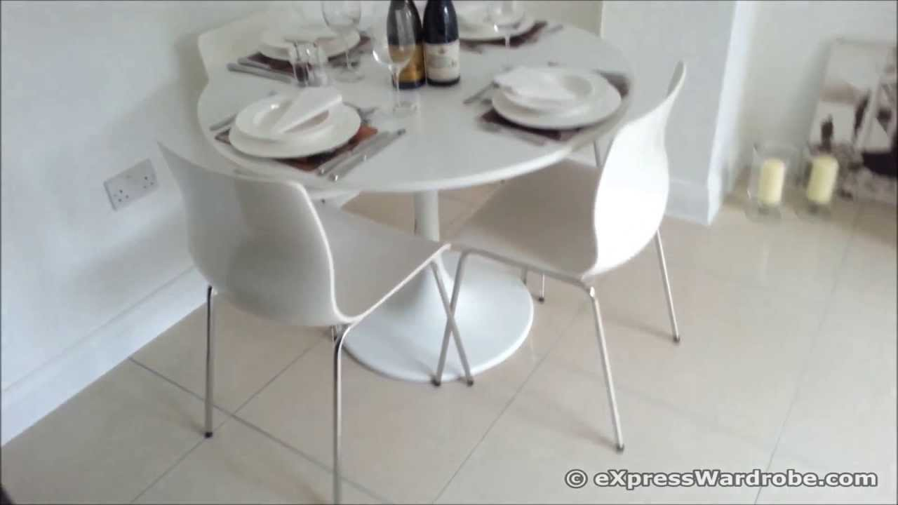 IKEA Docksta Table With Erland Chairs