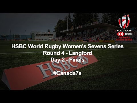 LIVE: HSBC World Rugby Women's Sevens Series 2018 - Langford Day 2