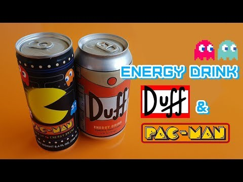 Energy Drink Di Pac-Man E Dei Simpson (Duff)