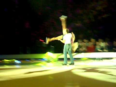 Alexandra Schauman and Lucasz Royski - Footloose - Dancing On Ice 2010