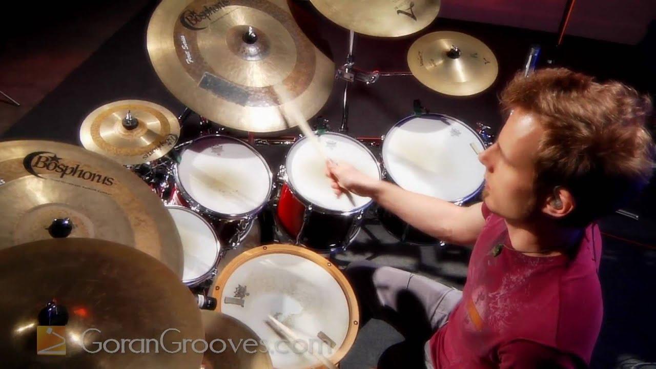 Goran Rista playing his original tune Horizont, on drums.