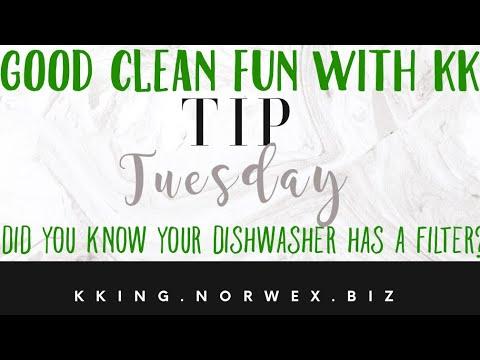 GCF: Tip Tuesday, Dishwasher Filter