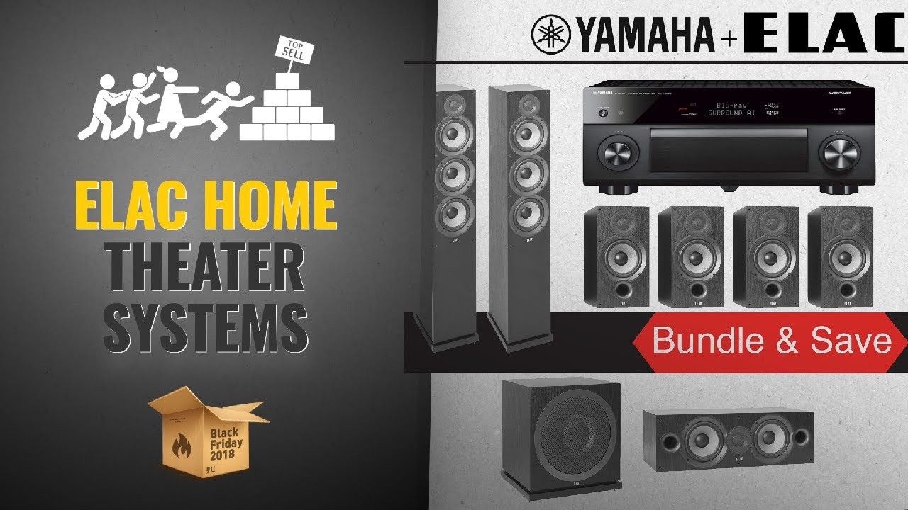 Elac Home Theater Systems Black Friday / Cyber Monday 2018 | Black Friday  Buying Guide