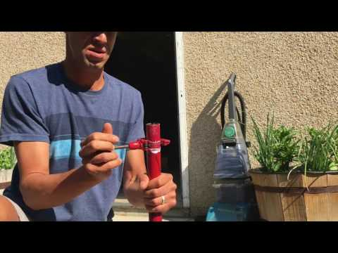 Cutting Scooter Bars Using a Pipe Cutter