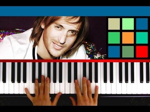 How To Play Titanium Piano Tutorial Sheet Music David Guetta Ft