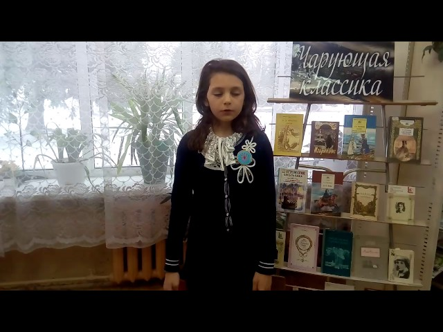 Изображение предпросмотра прочтения – ВикторияЗабун читает произведение «Няне» А.С.Пушкина