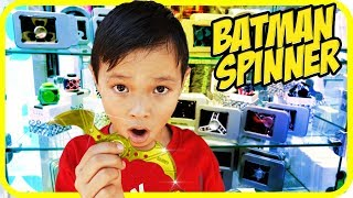 FIDGET SPINNER Toy Hunt at Shopping Mall #12, Real Blade Batman Spinner - TigerBox HD