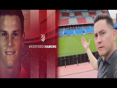 GAMEIRO es del ATLETI, así reaccionó el 'niño' Torres | Conociendo el Vicente Calderón