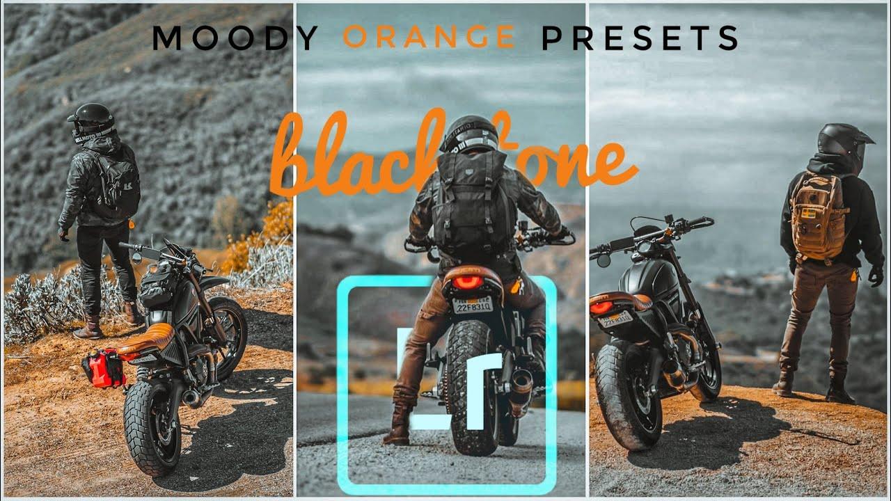 Bike riders moody orange preset||with download link ...