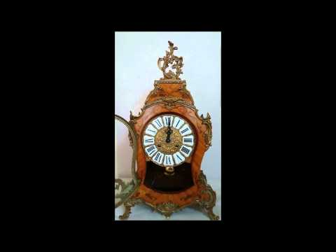 Antique French Cartel Clock