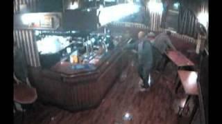 CCTV Fight Bentinck Hotel Nottingham Pub Brawl