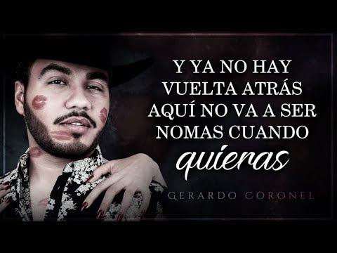 (LETRA) ¨FUISTE TÚ¨ - Gerardo Coronel