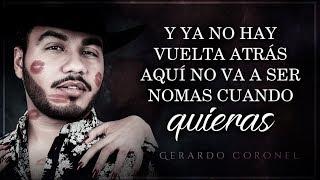 """(LETRA) ¨FUISTE TÚ¨ - Gerardo Coronel """"El Jerry"""" (Lyric Video)"""