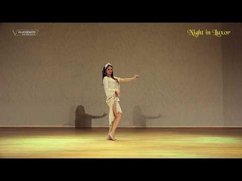 "Shaabi belly dance in ""Night in Luxor"" contest. Bellydancer Emilija Latifa"