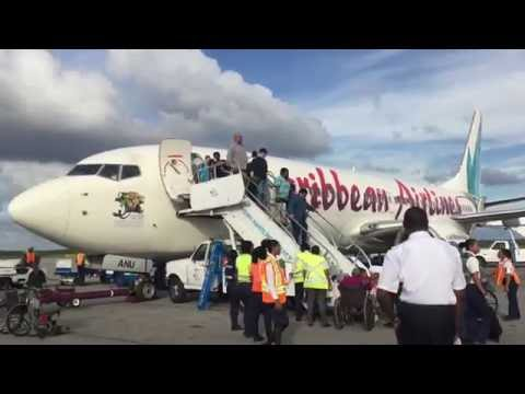 Caribbean Airlines flight 526 Port of Spain to Georgetown Guyana