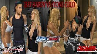 Jeff Hardy Season Mode - vs Stone Cold Steve Austin - WWE SVR 2006 MFS MOD (Part 1)