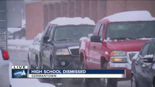 Local schools are closing early due to winter storm