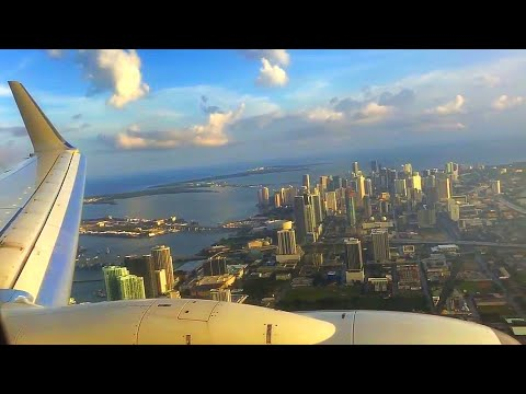 Miami Airport Landing Boeing 737-823 American Airlines
