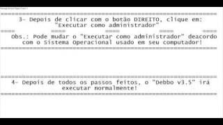 Como retirar o erro do Debbo v3.5 (Bem explicado)