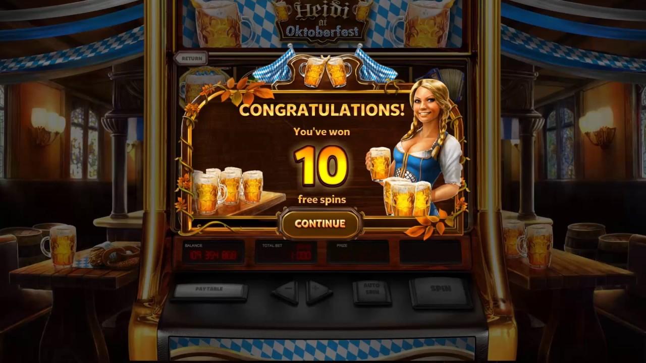 Octoberfest Slot Machine