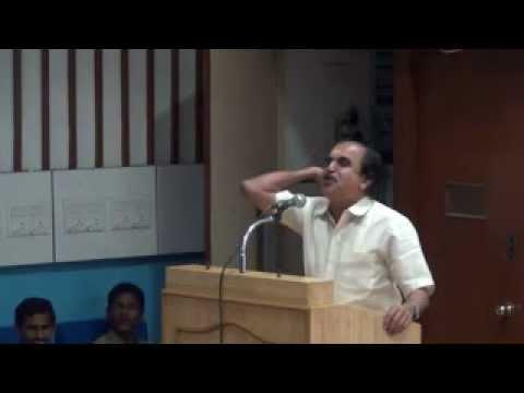 Dr. N. Gopalakrishnan Speaks At IIT Madras (16.08.2012)
