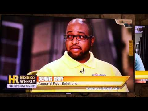 Accurid Pest Solutions featured on ABC's Hampton R