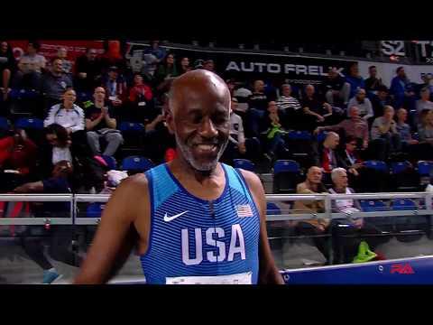 World Record Masters M70 200m Indoor At Torun 2019