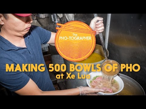 Making 500 Bowls of Pho at Xe Lua