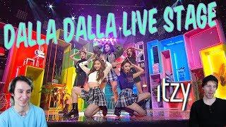 ITZY - Dalla Dalla [Live Stage Performance Reaction]