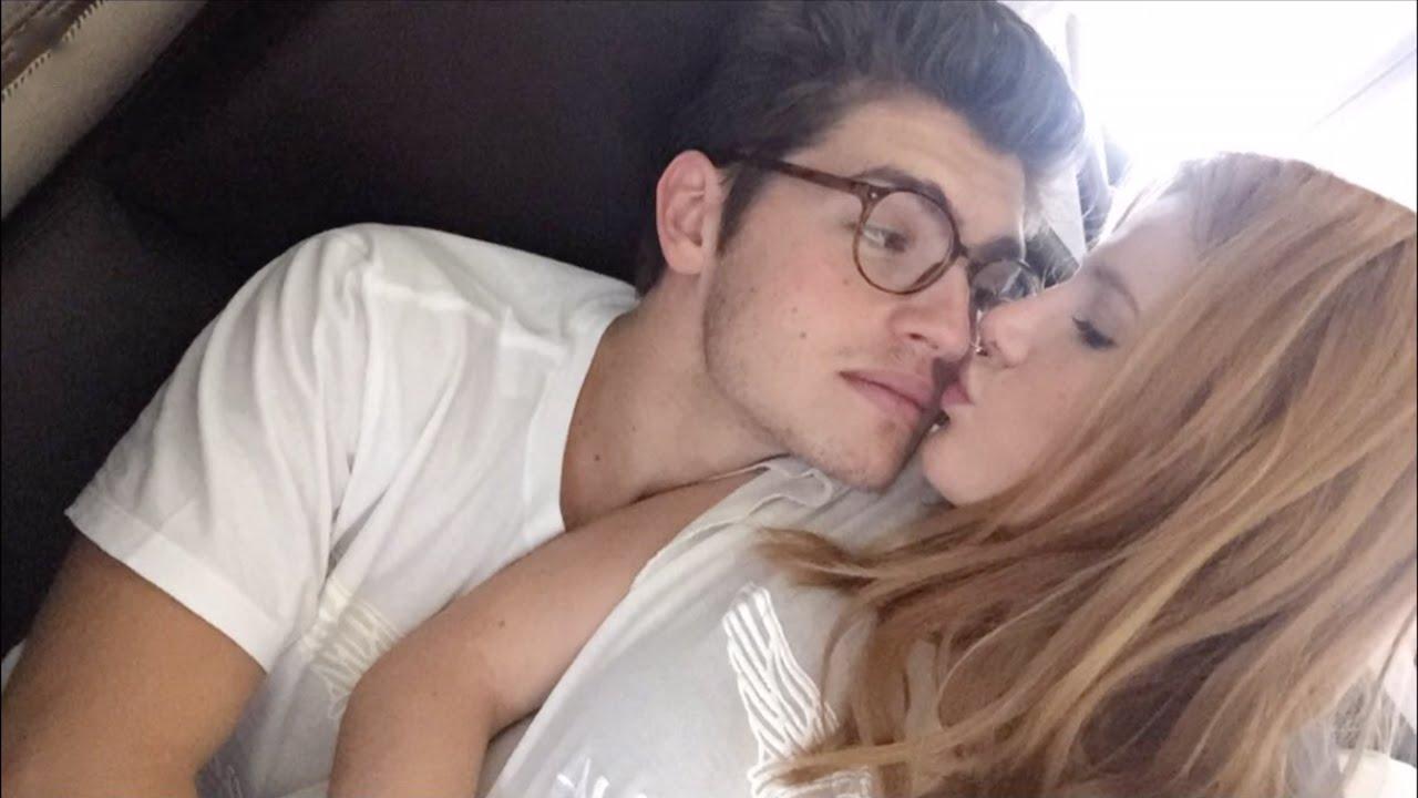 Bella Thorne And Gregg Sulkin Kissing