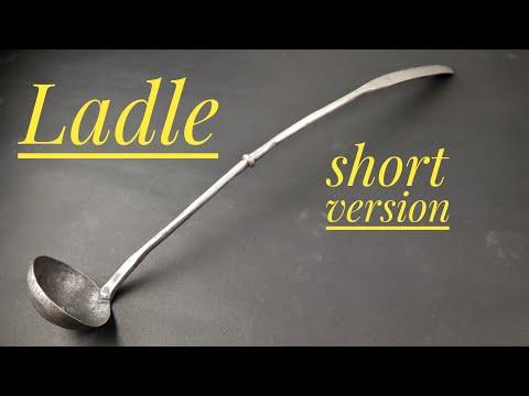 Forging a ladle - short version