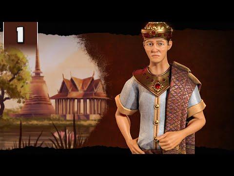 Civilization 6 Gathering Storm - Primordial Ramkhamhaeng - Part 1